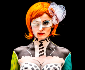 World body painting festival 2015