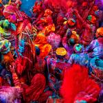 Un tuffo nel colore: In India per la festa Holi