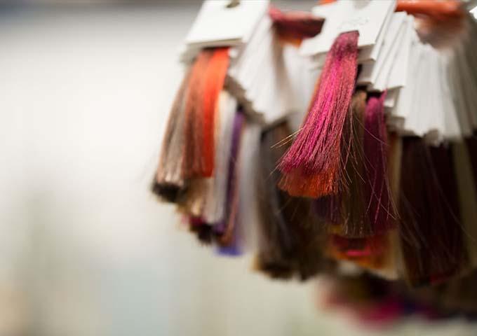 Ciocche cartelle colore per parrucchieri - Fashion Color