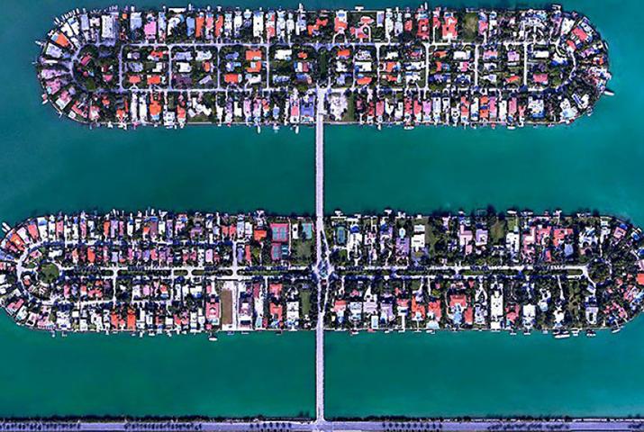 Miami Beach, in Florida