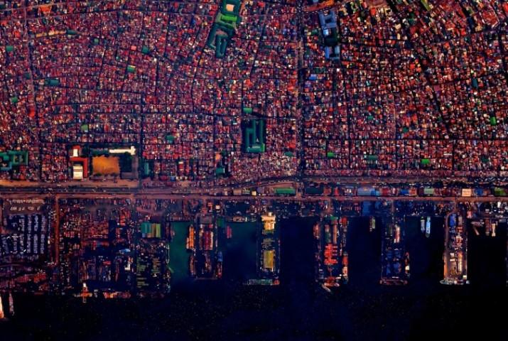 Il porto di Manila, nelle Filippine