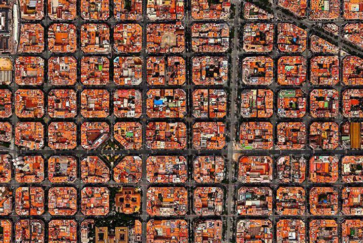 La città di Barcellona