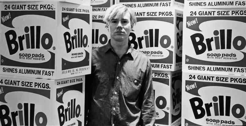 Warhol & Brillo Boxes At Stable Gallery
