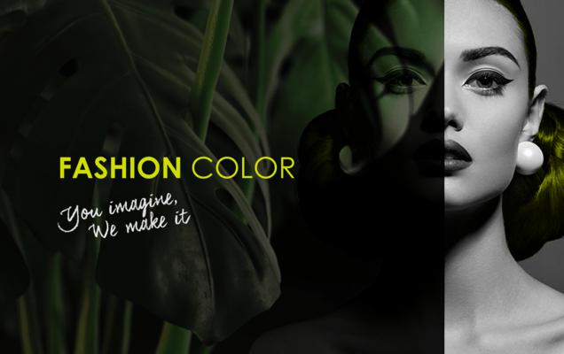 Nuova Visual Identity per Fashion Color