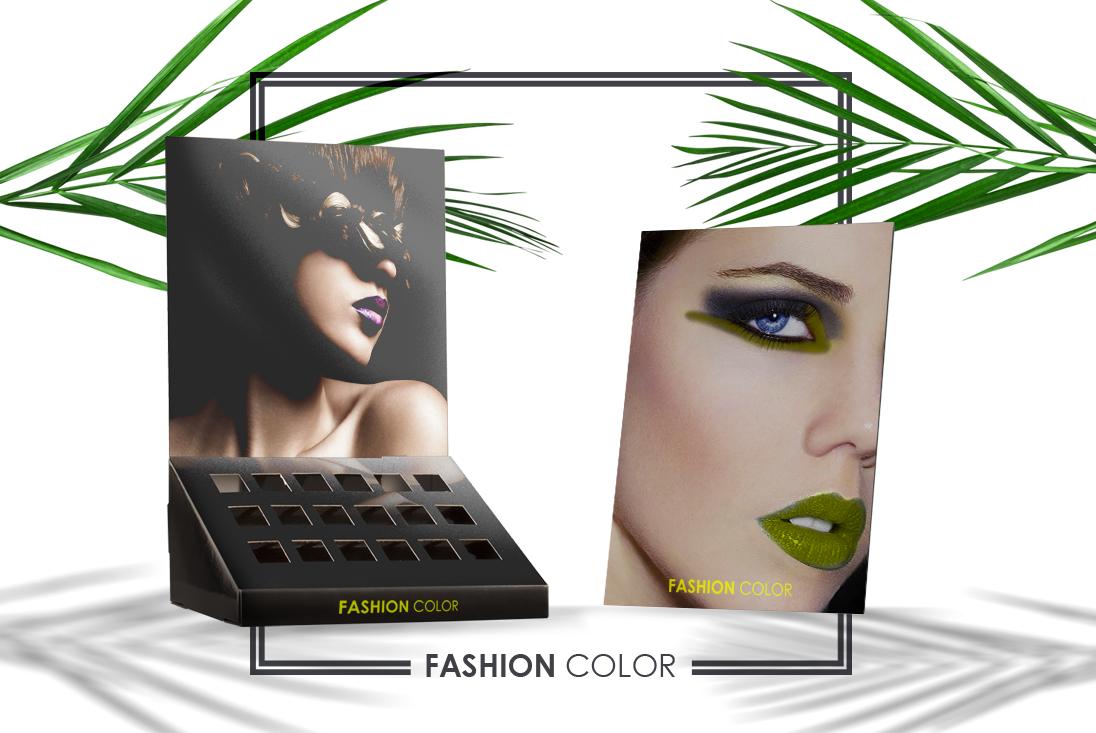 Espositori da banco personalizzati: make-up, smalti e cosmetici al posto giusto