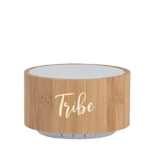 Speaker wireless in bambù personalizzabile