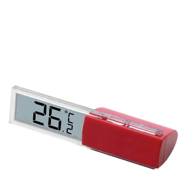 Termometro digitale in plastica personalizzabile, con astuccio in dotazione
